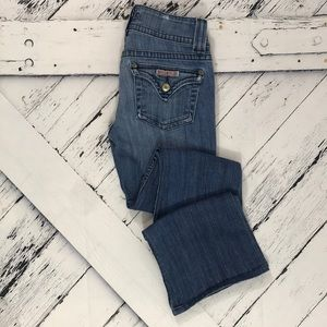 HUDSON Distressed Boot Cut Jeans sz 26